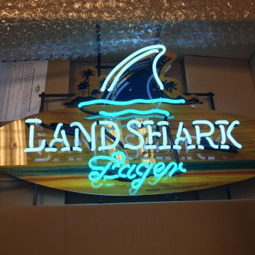 Land shark beer neon new in box